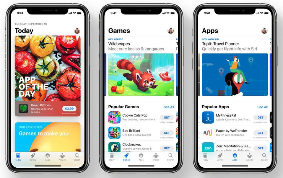 Apple's mobile App Store in iOS 14