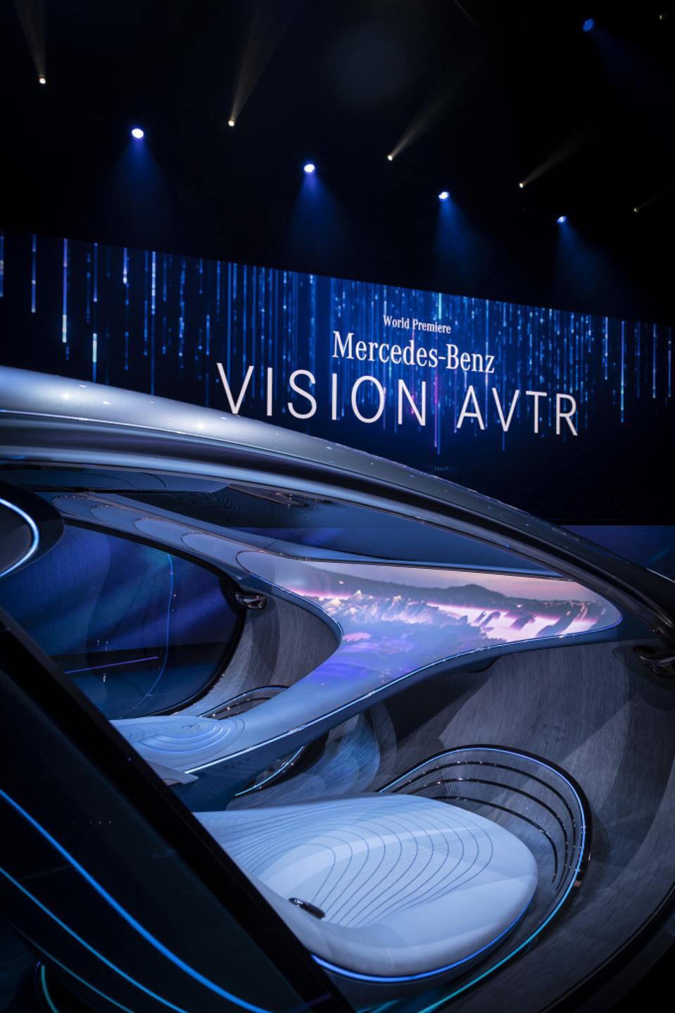 Mercedes-Benz AVTR at CES 2020