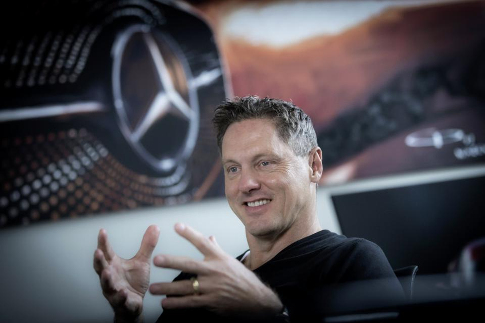 Gorden Wagener, chief design officer for Daimler AG and Mercedes-Benz