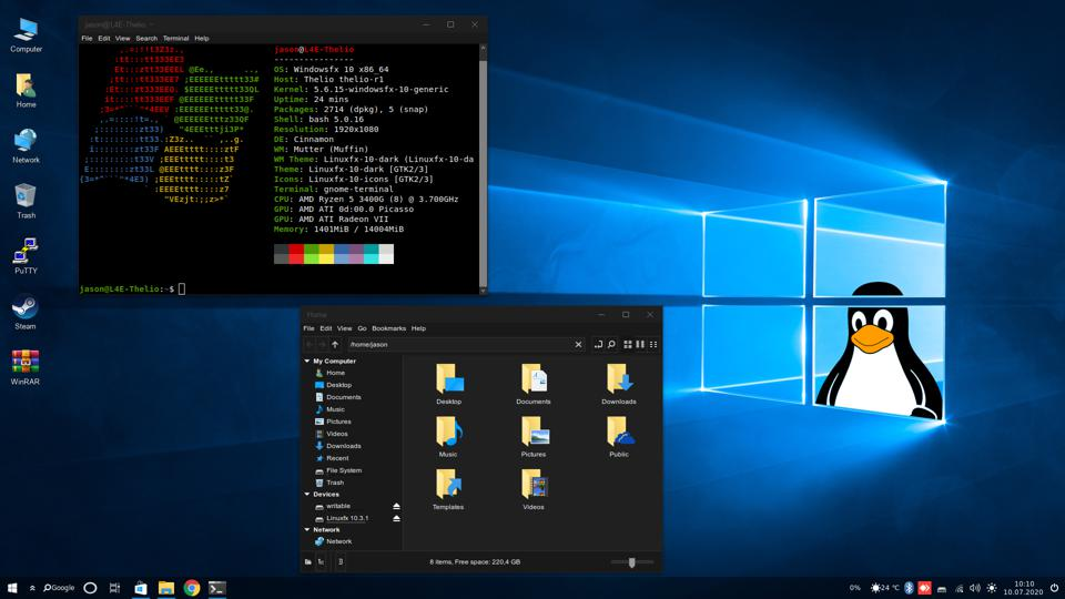 Meet The Unique Linux Os That Looks Shockingly Similar To Windows 10