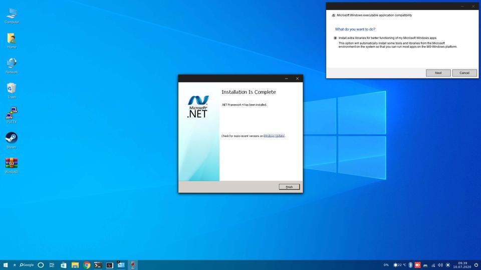 Out-of-box Windows compatibility is surprisingly good.