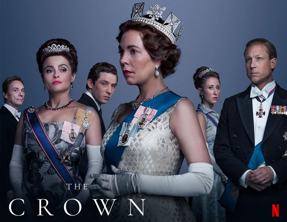 The Crown Netflix series poster