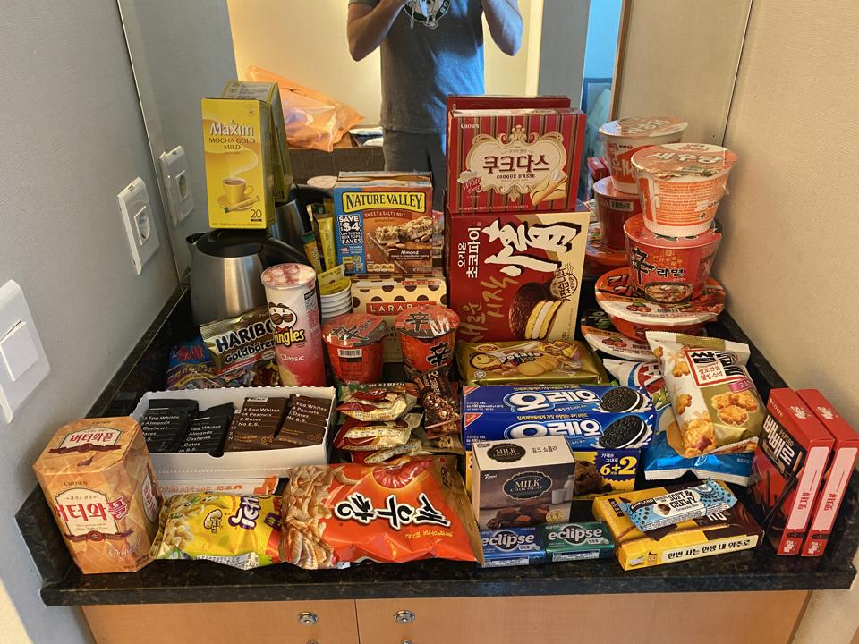 snacks quarantine
