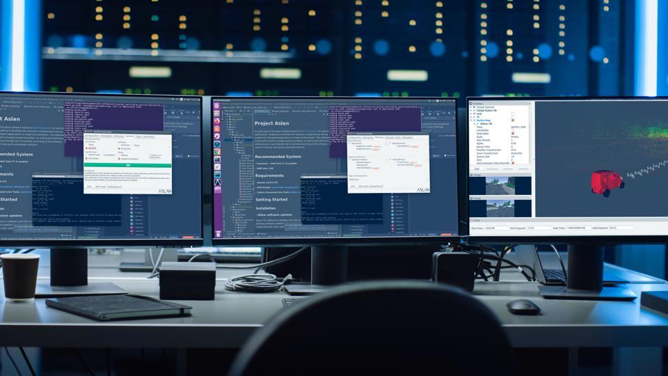 Project Aslan autonomous driving open source software