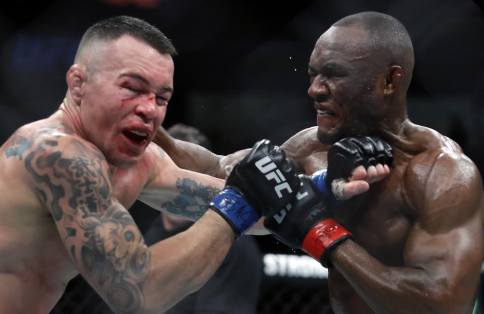 Kamaru Usman faces Jorge Masvidal in the main event of tonight's UFC 251 pay-per-view card