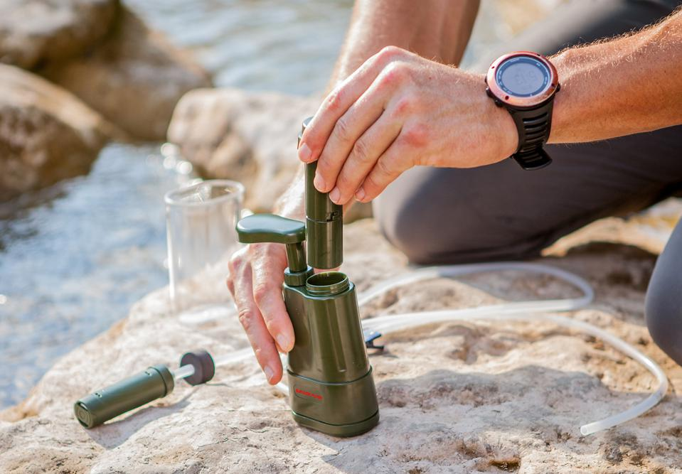 pOrtable water filtration system