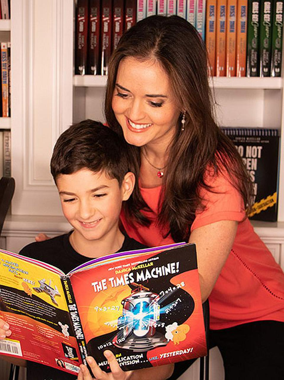 Danica McKellar, author of ″The Times Machine,″ teaches a revolutionary and FUN way to memorize multiplication facts.