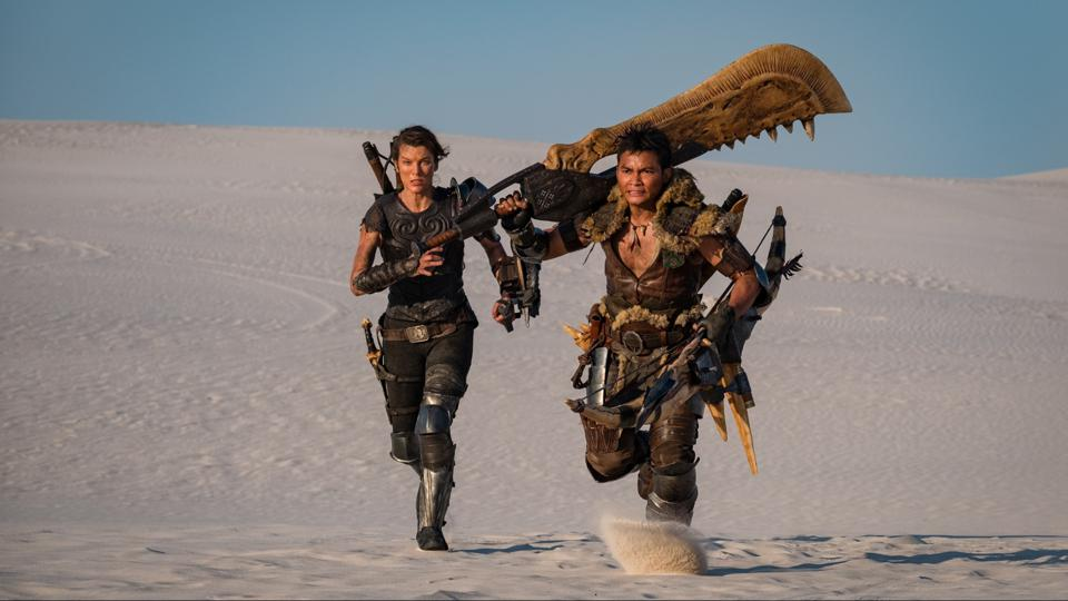 Milla Jovovich and Tony Jaa in Paul W.S. Anderson's 'Monster Hunter'