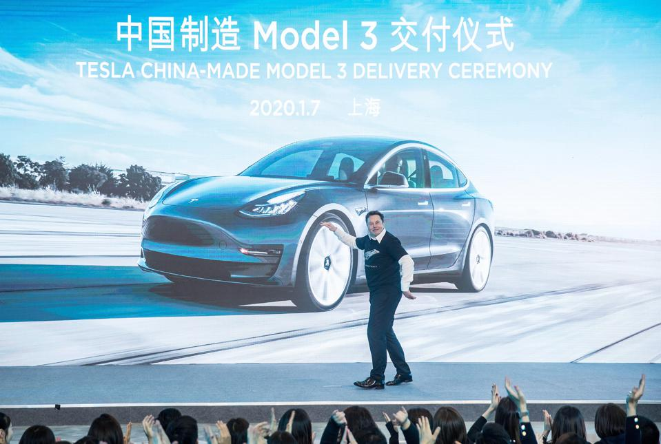 CHINA-SHANGHAI-TESLA-GIGAFACTORY-MODEL Y (CN)
