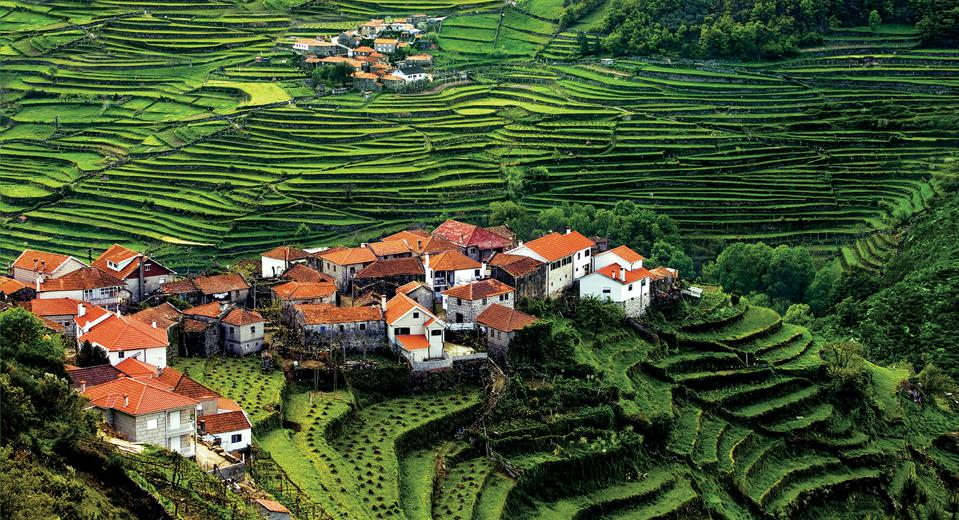 The village of Sistelo, one of the seven wonders of Portugal