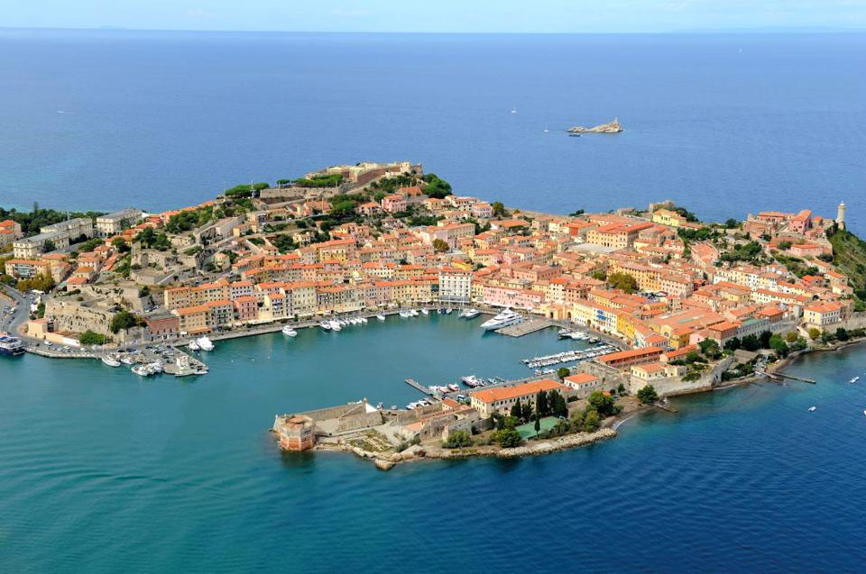 Portoferraio, Livorno in the Elba Island, part of the Tuscany region in Italy