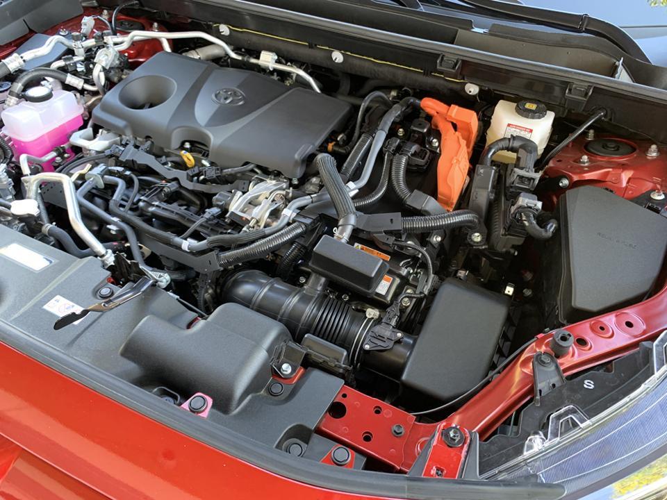 2021 Toyota RAV4 Prime Engine