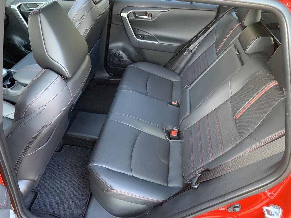 2021 Toyota RAV4 Prime Rear Seat