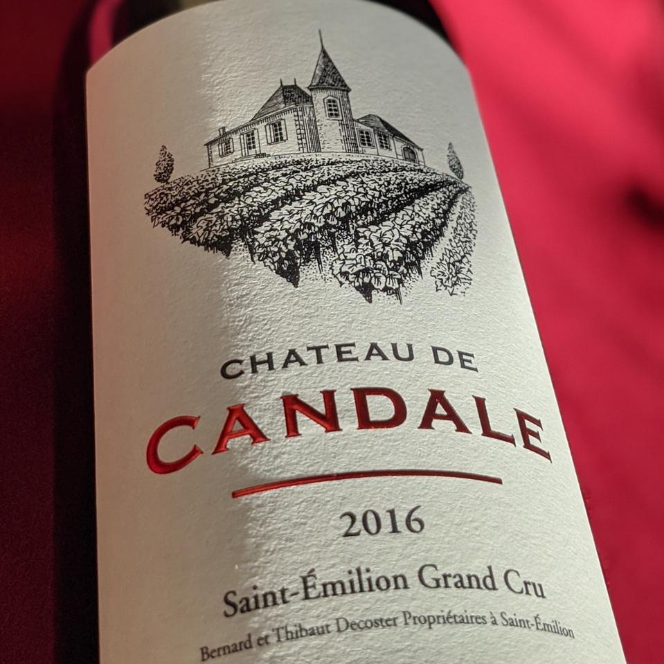 2016 Château de Candale