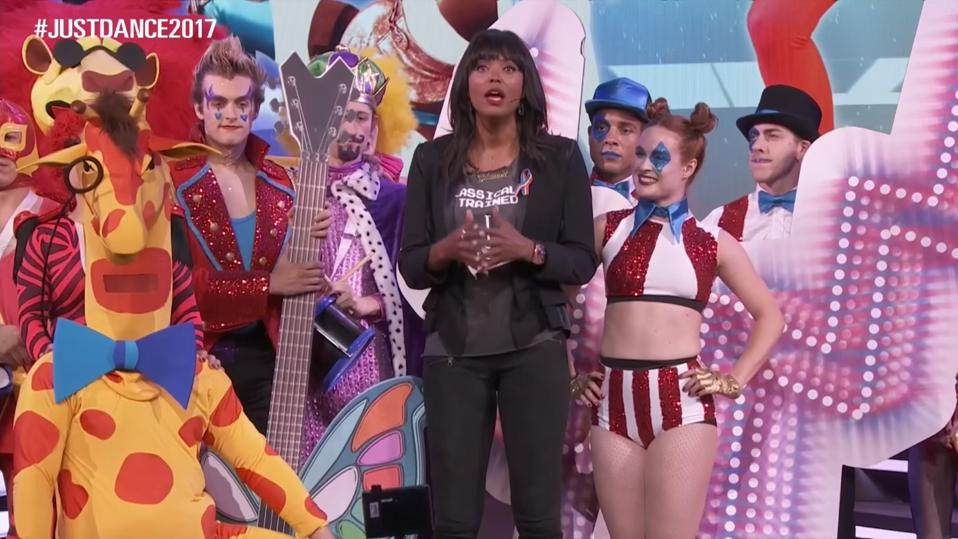 Aisha Tyler discussing the Pulse Nightclub shooting at E3 2016.