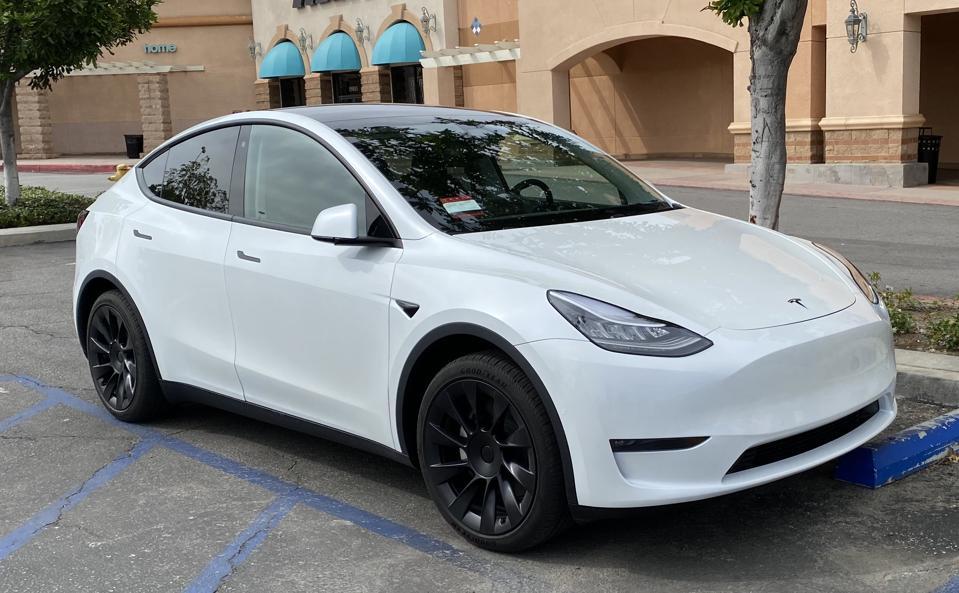 2020 Tesla Model Y.