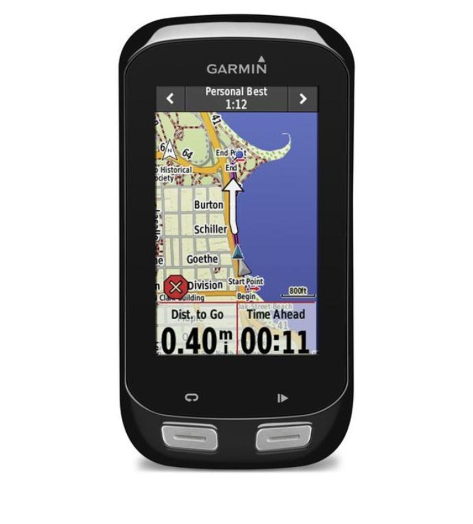 Garmin cycling computer with GPS