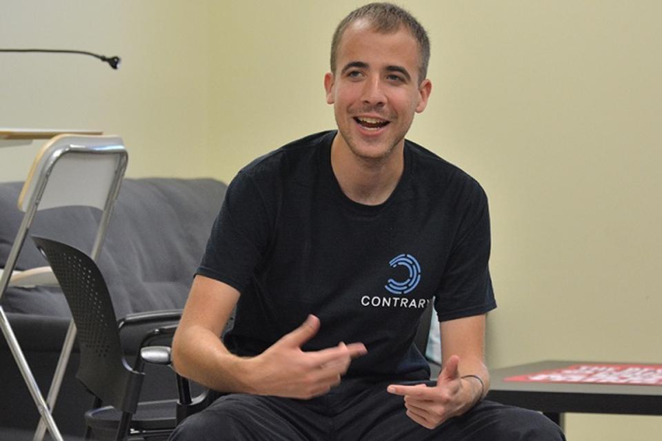 Contrary Capital, Eric Tarczynski, student entrepreneurs, venture capital