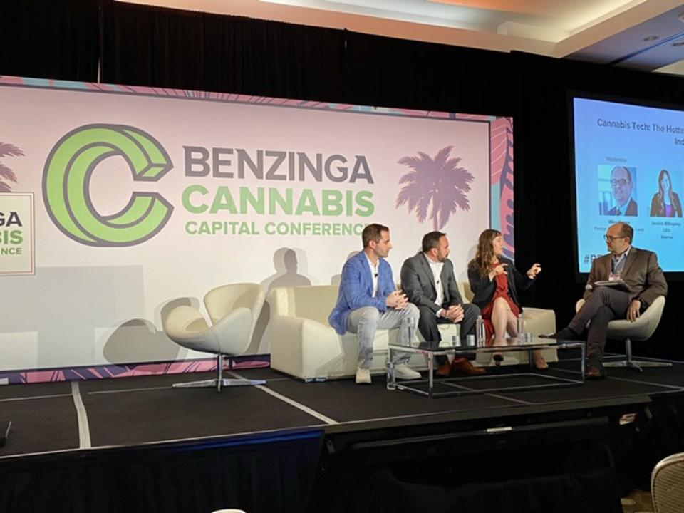 Benzinga Cannabis Conference in Miami in February 2020 - Christian was on the Cannabis Tech panel