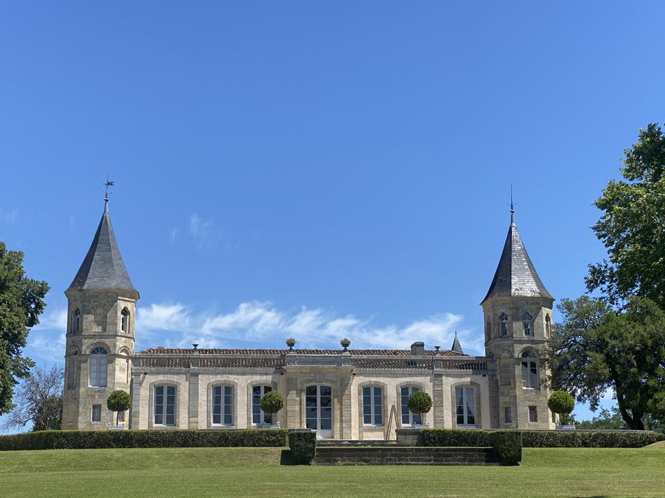 Château Brande-Bergère in Bordeaux, France