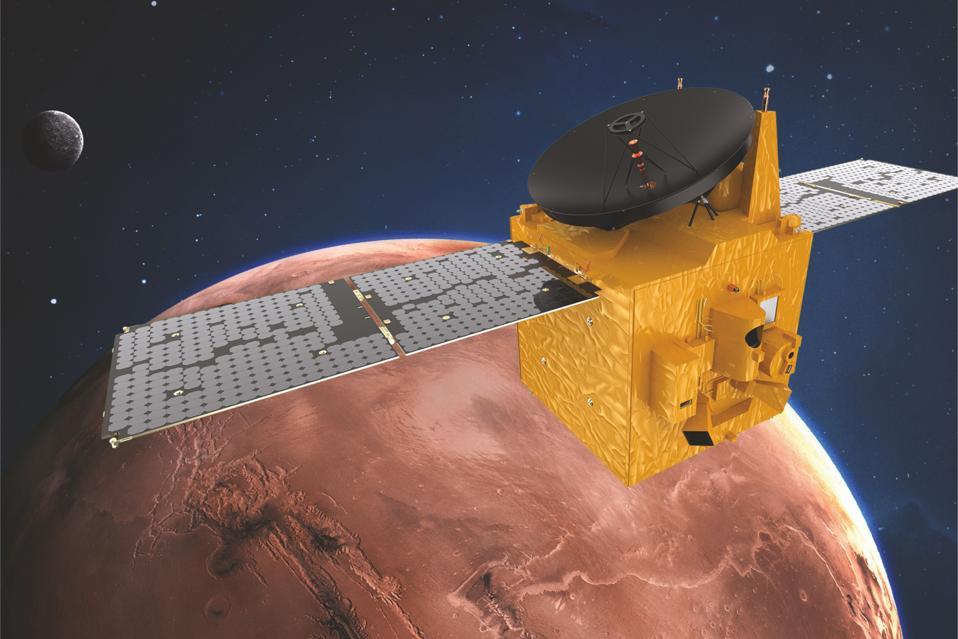 Spero che il veicolo spaziale renda su Marte