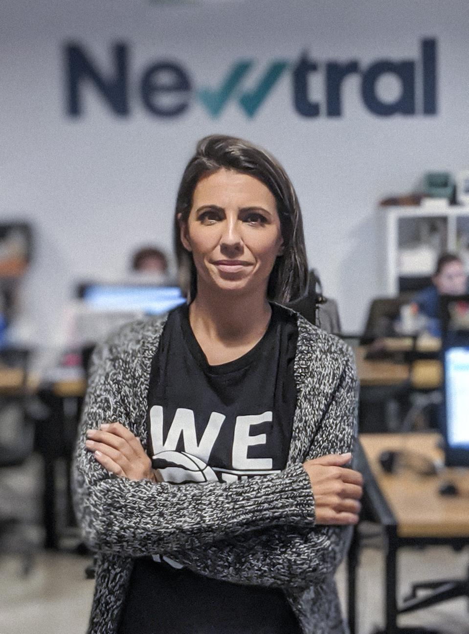 Ana Pastor, founder of Madrid-based media company, Newtral