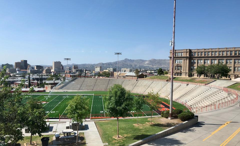 El Paso High stadium