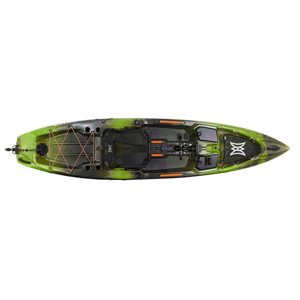 A pedal kayak.