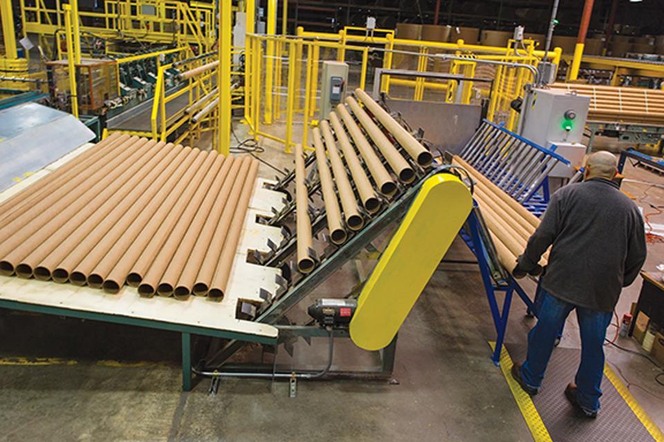 Sonoco tube production