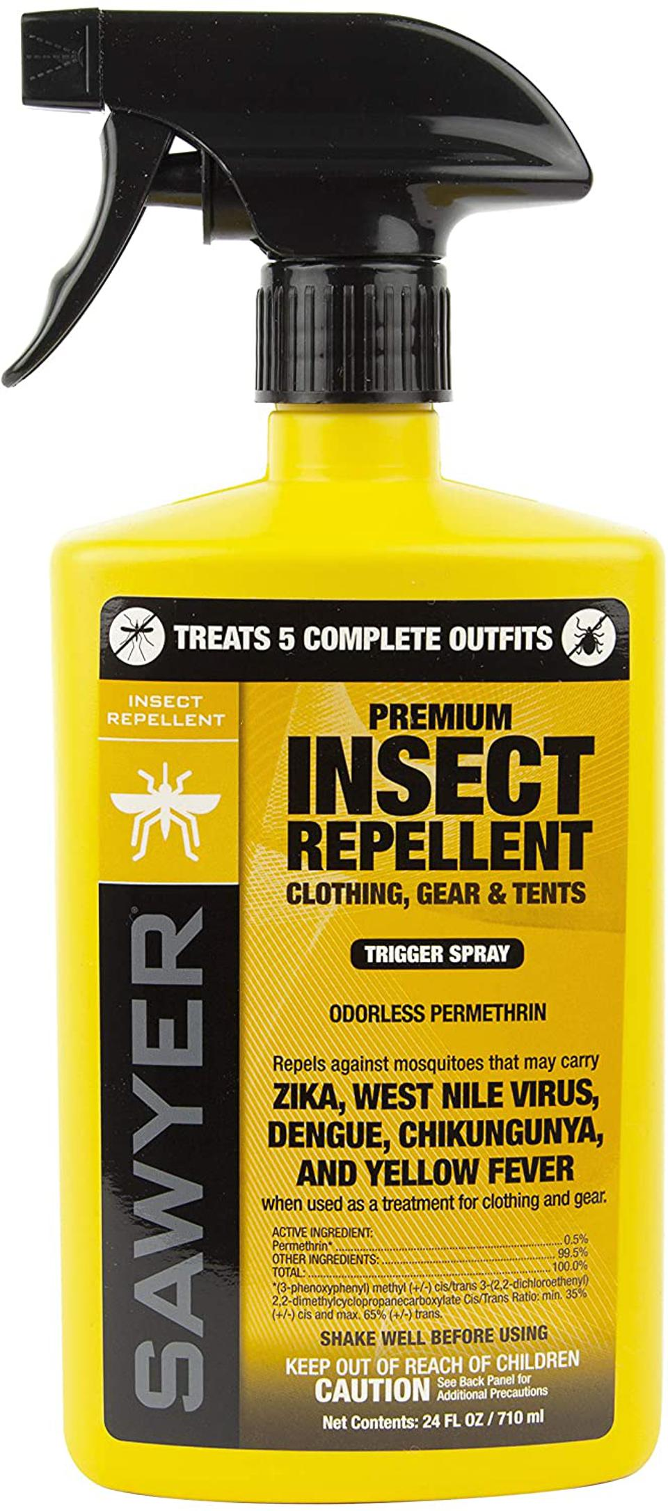 Sawyer Products Premium Permethrin Insect Repellent