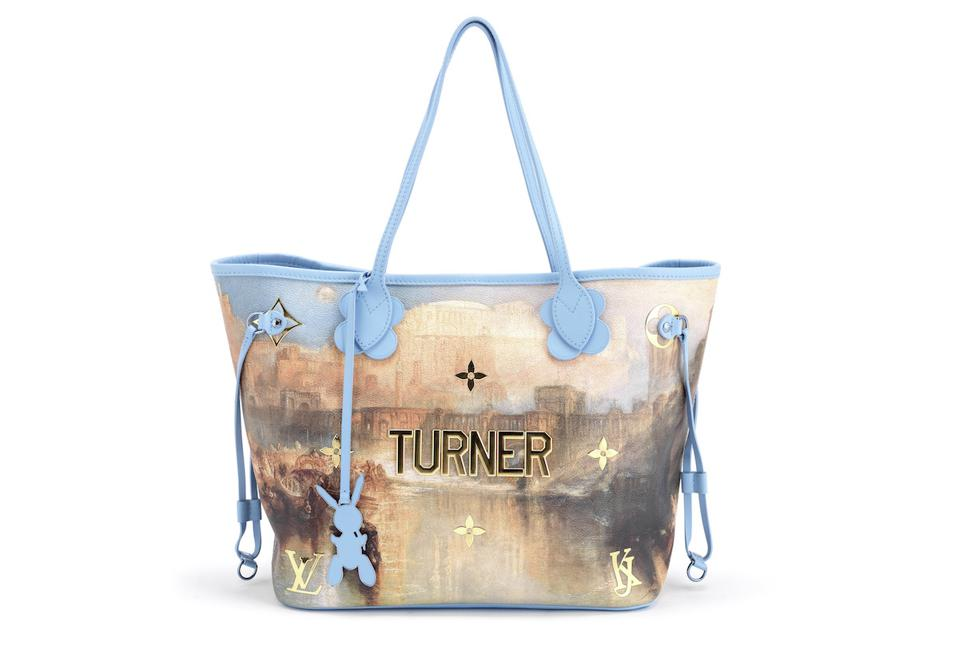 Turner painting on handbag