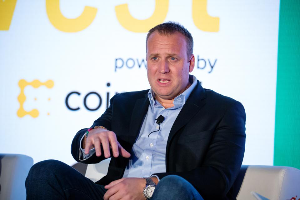 Josh Brown, chief executive officer of Ritholtz Wealth Management, speaks during the Consensus: Invest event.