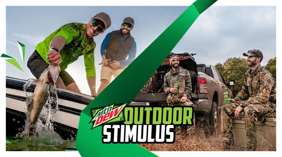 Mountain Dew will give 5,000 people $20 toward their hunting, fishing permits this summer.