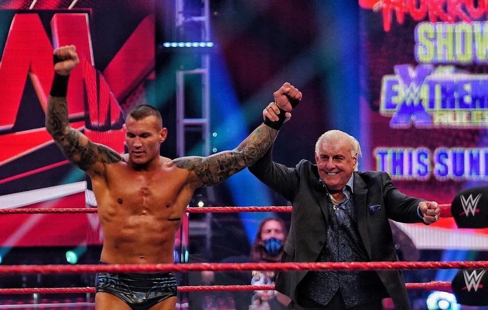 Randy Orton defeated R-Truth on Raw.