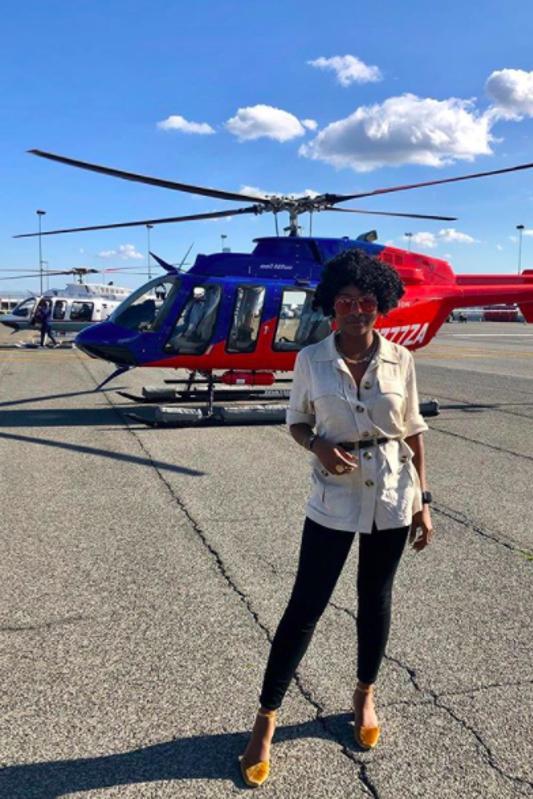 Tatiana Pile at JFK