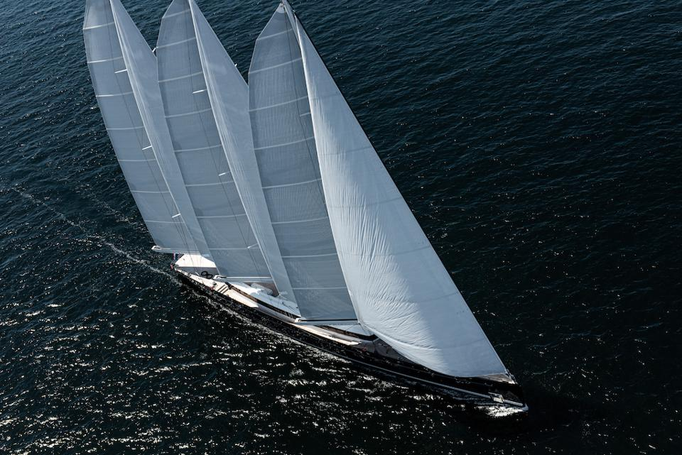 Sea Eagle II is a stunning 266-foot-long sailing superyacht