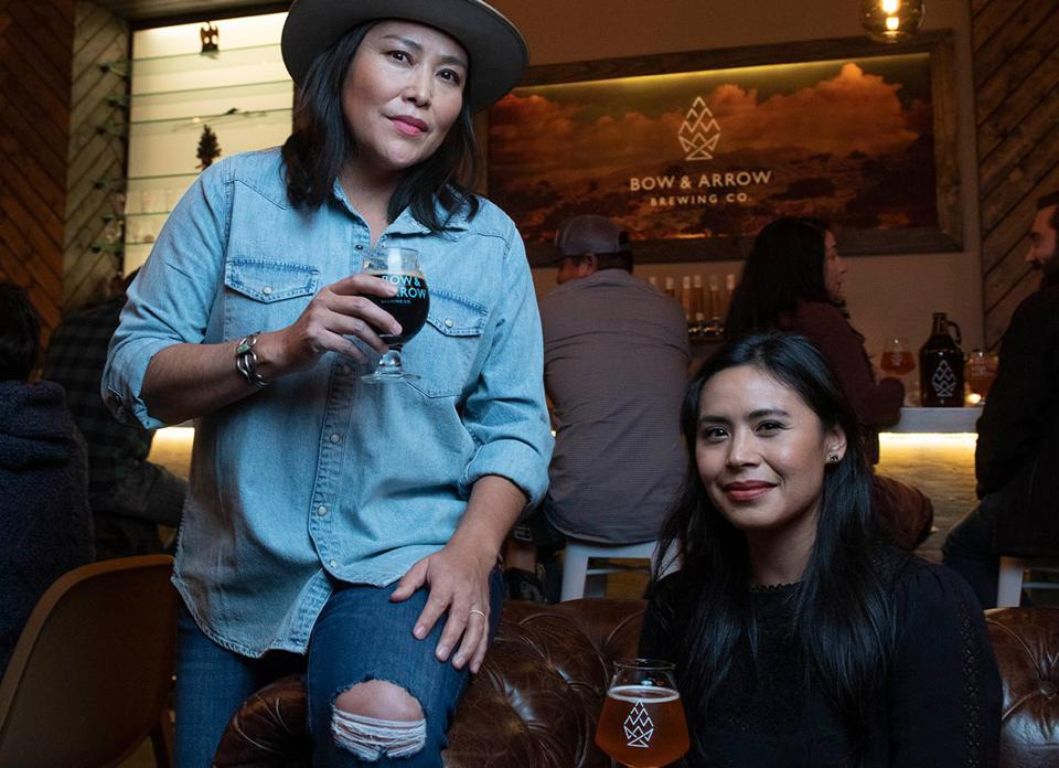 Cofounders of Bow and Arrow Brewing Company