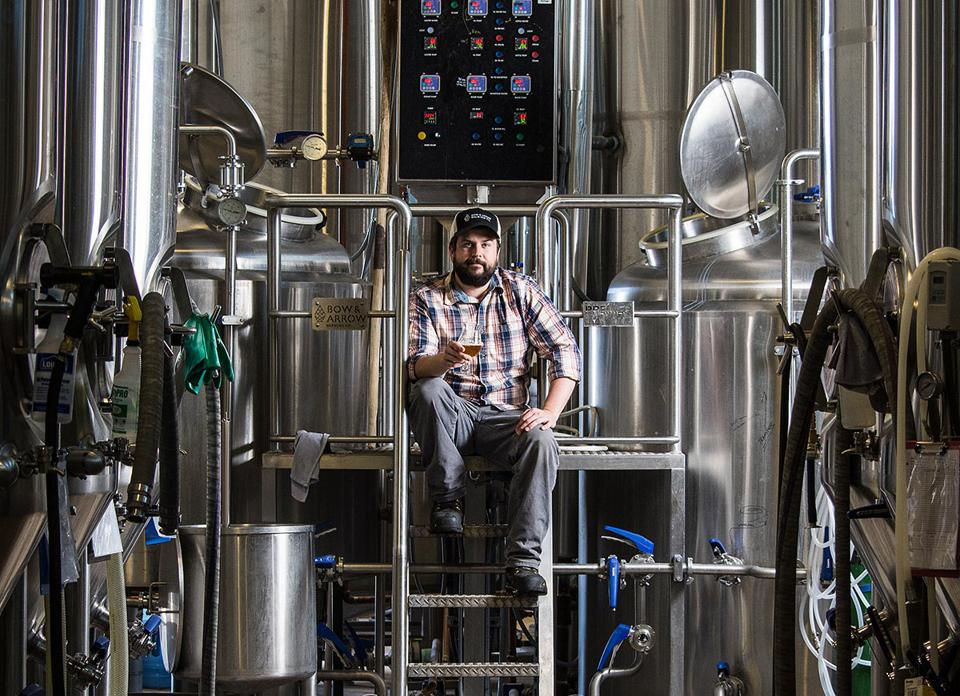 Head brewer at Bow and Arrow Brewing Company