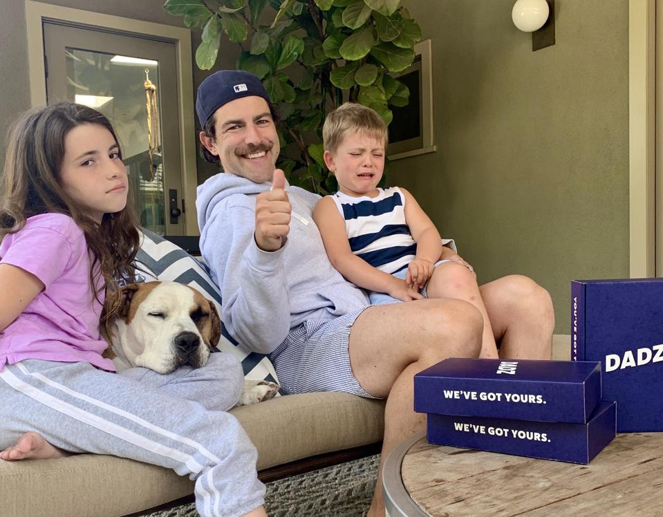 Max Greenfield launches new dad-focused parenting company, DADZ