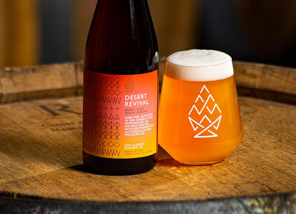 A sour beer from Bow and Arrow Brewing Company