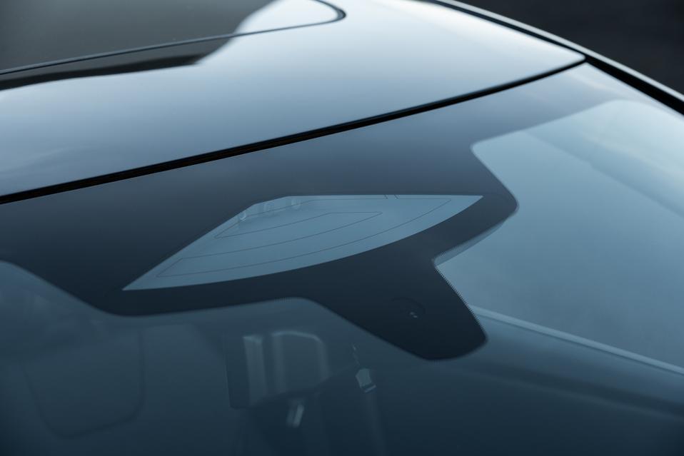 2022 Nissan Ariya tri-focal front camera for ProPilot Assist 2.0