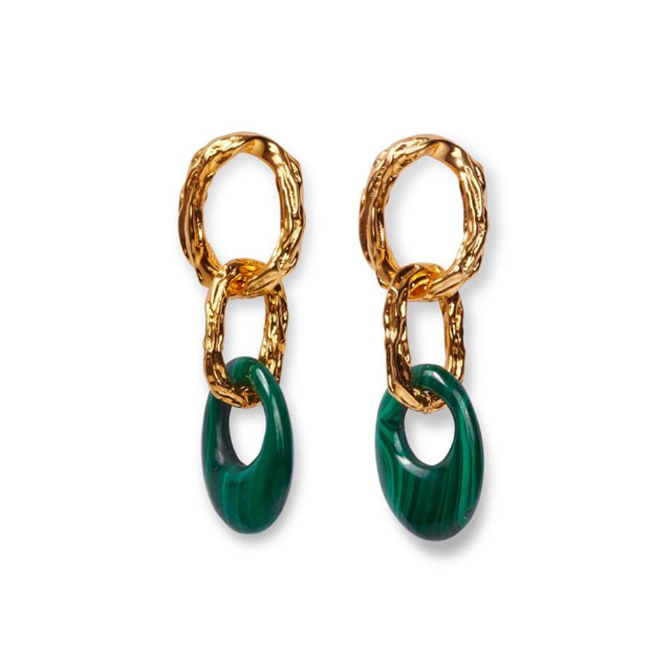 Lizzie Fortunato Evergreen Earrings