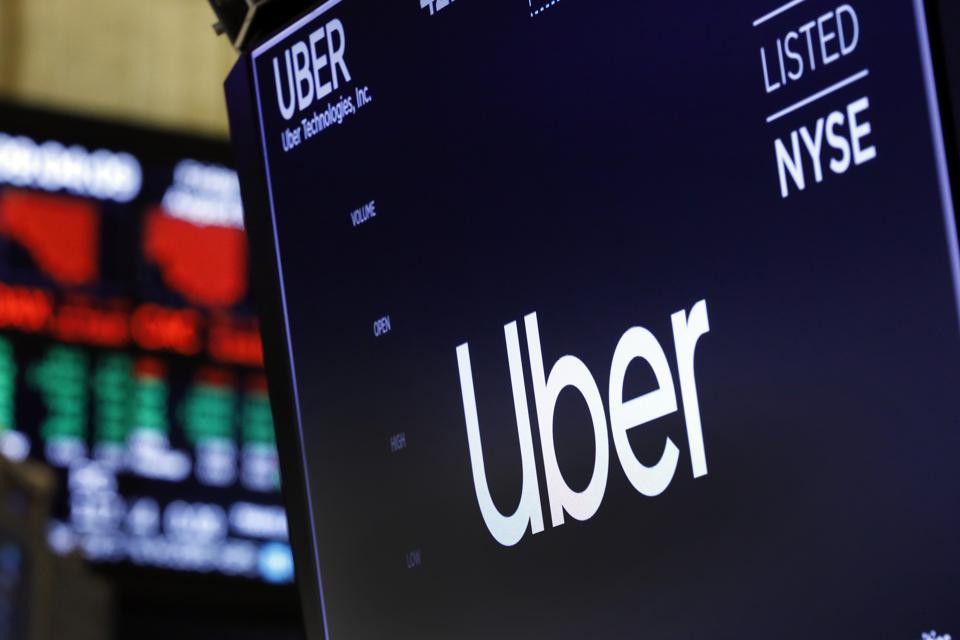 Financial Markets Wall Street Earns Uber