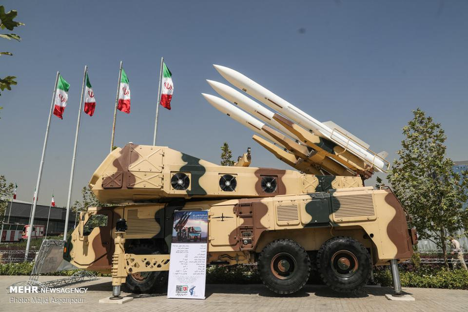 Iranian air defense missile
