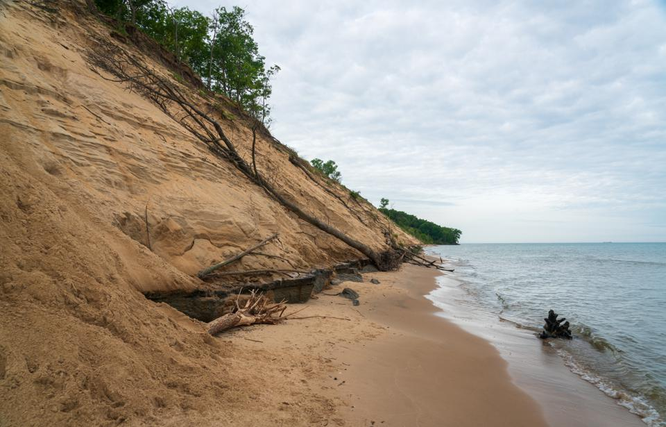 Coastline at Indiana Dunes National Park