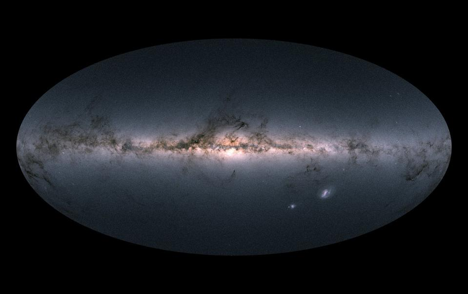 Our best-ever view of the stars in the Milky Way galaxy, courtesy of ESA's Gaia mission.