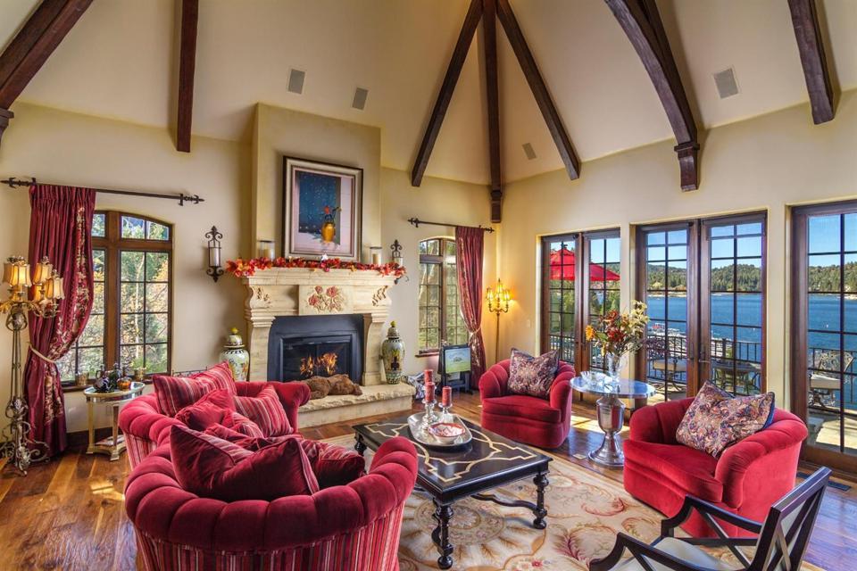 Celebrity Dining: Sammy Hagar, Van Halen, Lake Arrowhead, California, luxury precise property, mountain, village
