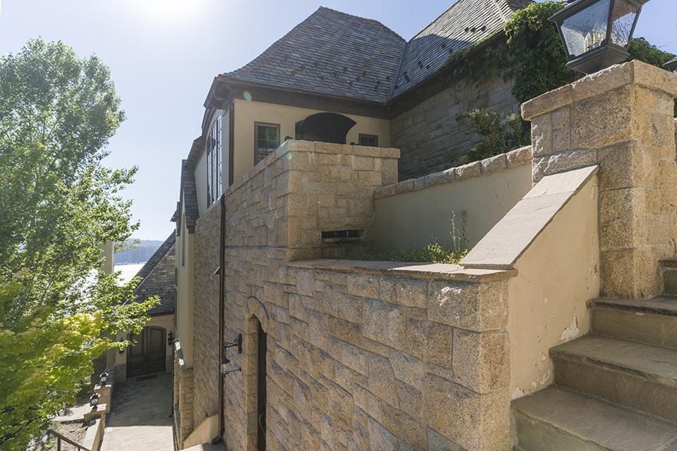 Sammy Hagar, Van Halen, Lake Arrowhead, California, luxury, mountain, French Château