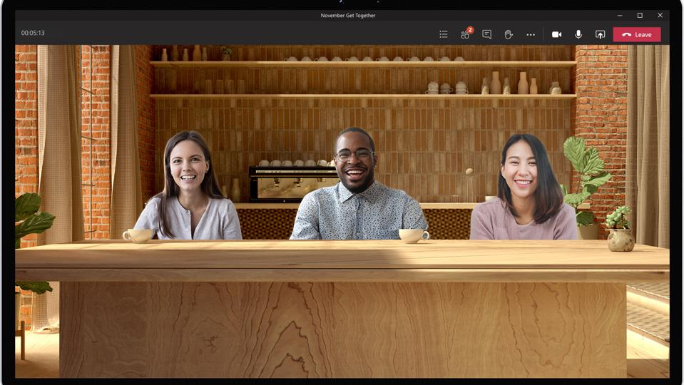Together Mode in Microsoft Teams is designed to reduce virtual meeting fatigue