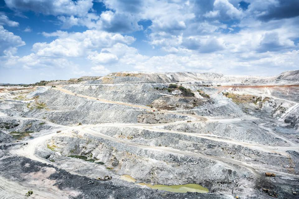 The Kagem and Gemfields Mine in Zambia's Copperbelt Province.